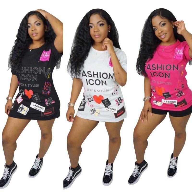 Женская одежда с коротким рукавом сексуальная горячая распродажа футболка с коротким рукавом с принтом сексуальная футболка с круглым вырезом klw0526