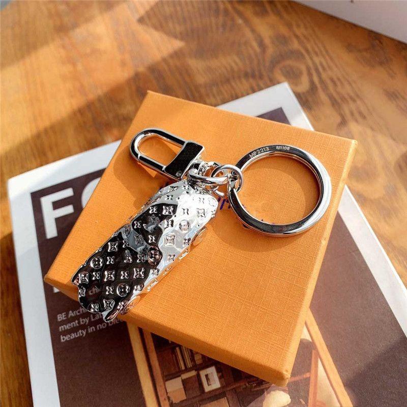 portachiavi di auto di lusso di design con mens donne del contenitore portachiavi chiave di supporto per auto catena titolare portachiavi regalo souvenir