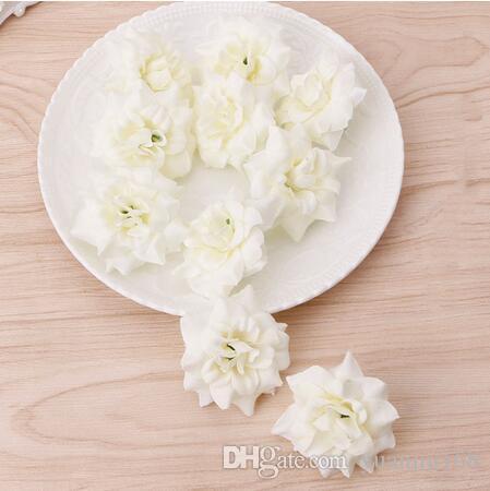DIY flores artificiais Rose cabeça por Wedding Party nupcial Home Decoração GB579