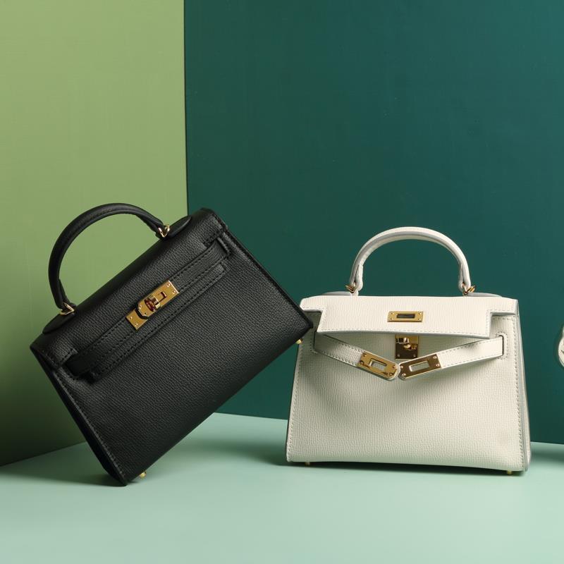 2020 Designer Luxus-Handtasche Mode Damen Tasche EPSOM Deutsch importiert Kalbsleder voll handgemachte handgemachte Top-Qualität