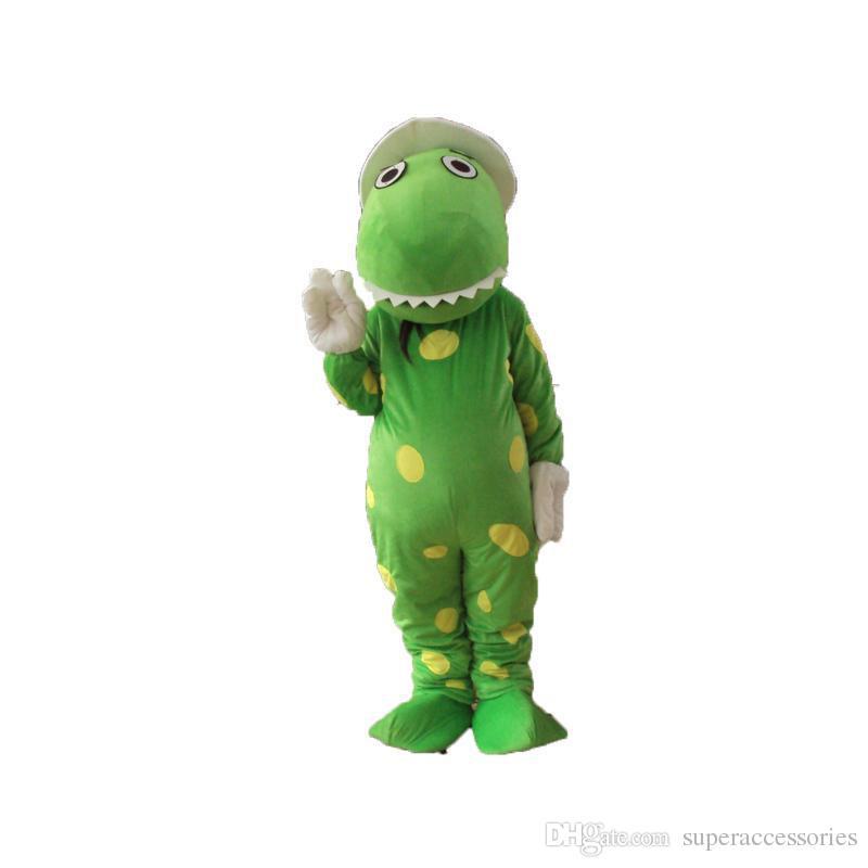2019 Alta qualità Dorothy il costume della mascotte del dinosauro termini testa materiale Spedizione gratuita