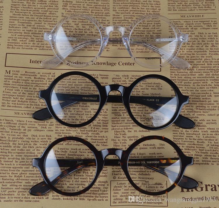 Zolman Clear Frame and Lense Johnny DEPP Очки Очки Очки Retro Myopia Oculos Grau Мужские Рамки Женские Очки Meopia De A AHVCA