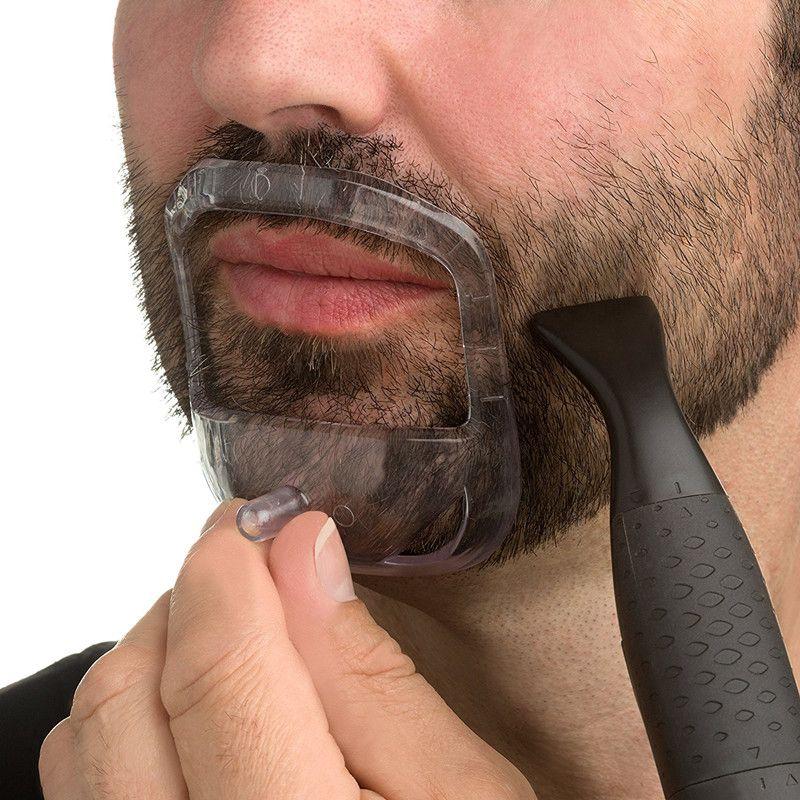 5 Pcs/set Beard Styling Tools for Men Fashion Goatee Shaping Template Beard Shaving Face Care Modeling Tool Gift for Husband