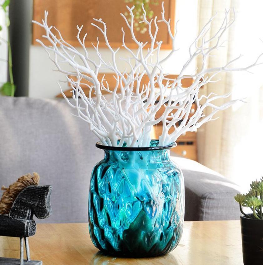 35 cm Falso Foliage Piante ramo artificiale ramo di un albero House Room coperto per nuziale della KKA7960