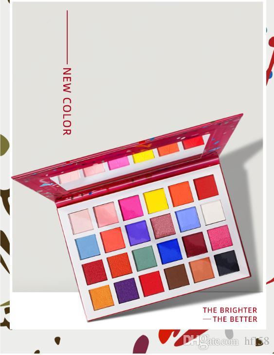 epacket livraison gratuite nouvelle palette de maquillage 24 couleurs nouvelle palette de fard à paupières