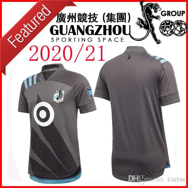 2020 Minnesota Estados FC camisetas de fútbol de los jerseys Greguš 8 CHACON 11 AMARILLA LOD Opara METANIRE MLS camiseta de local de distancia
