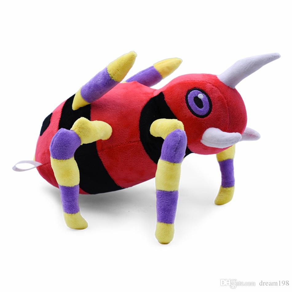High Quality Ariados Plush Stuffed Toy Animals For Baby Best Gifts 11.8inch 30cm Wholesale