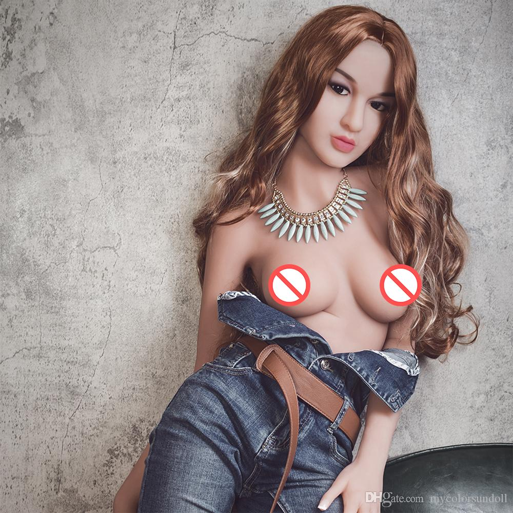 NEW Life Size Sex Dolls 158cm big breasts Lifelike Real Doll full silicone solid Japanese anime sex toys