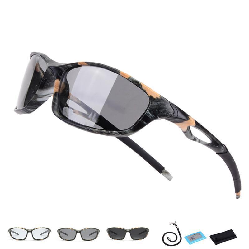 Heißer Verkauf Polarisierte Photochrome wanderbrille Männer Frauen UV400 Jagdbrille Camping Brillen Sport Klettern Angeln Sonnenbrille