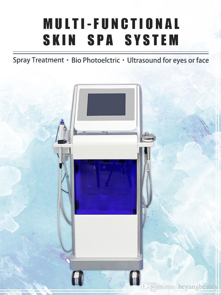 Hot-sale Hydro Diamond Peel Oxygen Facial Beauty Machine 9 Functions Facial Beauty Machine for spa or clinic