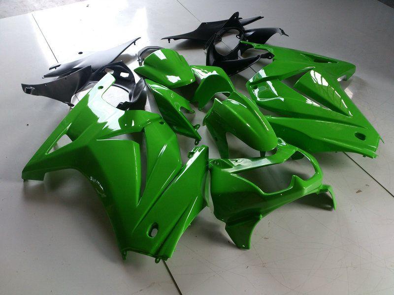 Carrosserie injection carénage pour KAWASAKI Ninja ZX250R ZX 250R 2008 2011 2012 Carrosserie ZX-250R EX250 08 09 10 12 Set de carénages KK02