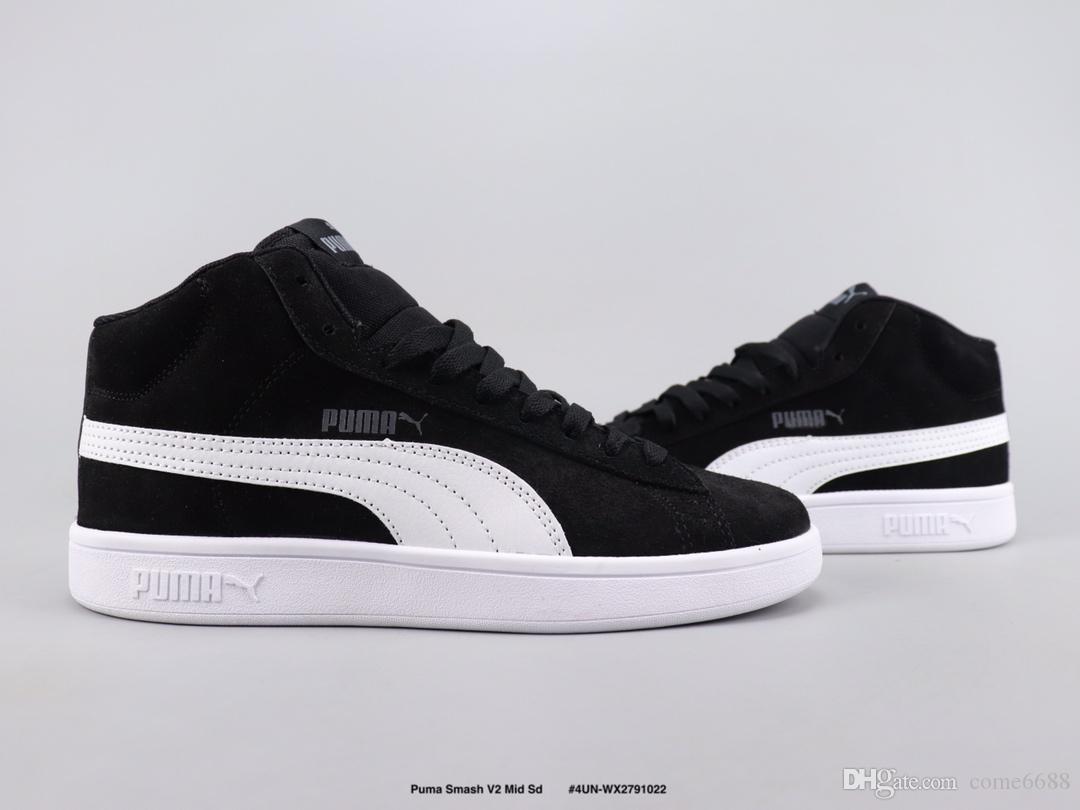 chaussure puma smash v2 mid