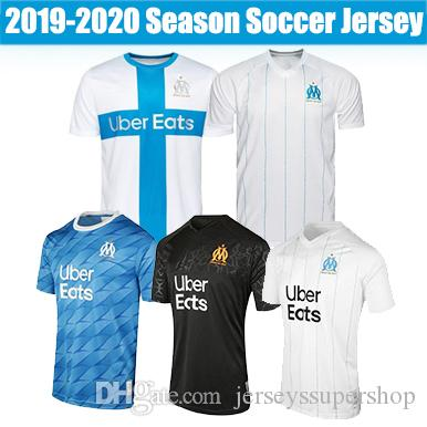 19 20 Olympique de Marseille Soccer Jersey 26 THAUVIN Maillots 10 PAYET Football Shirt 9 BENEDETTO Kit Sets 19 L.GUSTAVO
