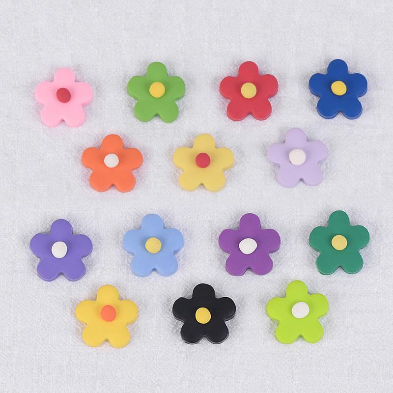 البوليمر كلاي تصحيح زهرة الصغيرة الأذن مجوهرات المواد الإضافية الأطفال متعة اللون الملونة يدويا لينة كلاي DIY اليدوية والاكسسوارات والمجوهرات