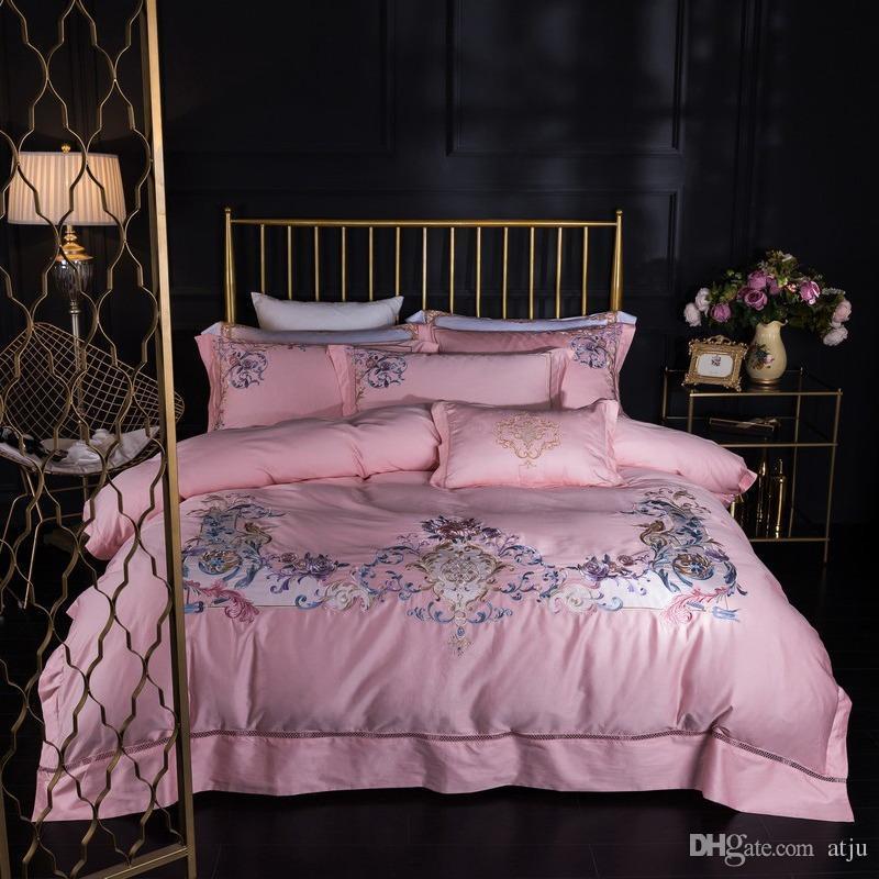 Designer Luxury Bedding Sets Juegos de Cama Pink Household Cleaning Serape Embroidery Machine Harry Potter king size comforter set