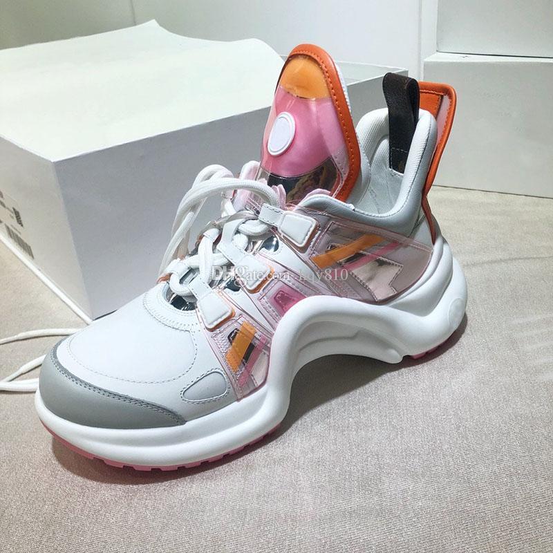فرنسا أزياء المرأة أحذية رياضية أعلى جودة الأحذية الفاخرة حجم 35-40 نموذج CL015