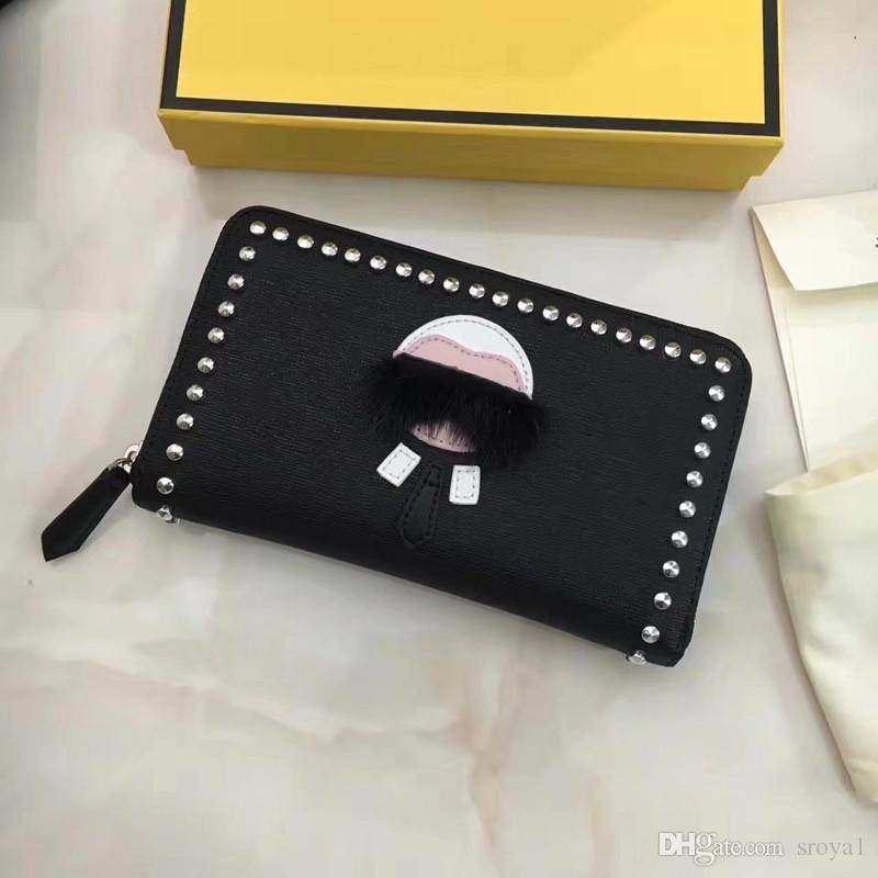 Lafayette Clutch Reißverschluss Kleines Monster Herren Qualität Brieftasche Kuh 2020 Brieftasche Leder Hohe Artikel Magazine Walle Frauen Mode Le UnwMT