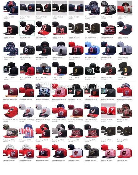 Personalidade 10000 Estilo escolha Baseball Snapback Todas as equipes Basquetebol snapbacks Caps de Futebol Chapéus de Hip Hop Moda Esportes Caps Chapéus