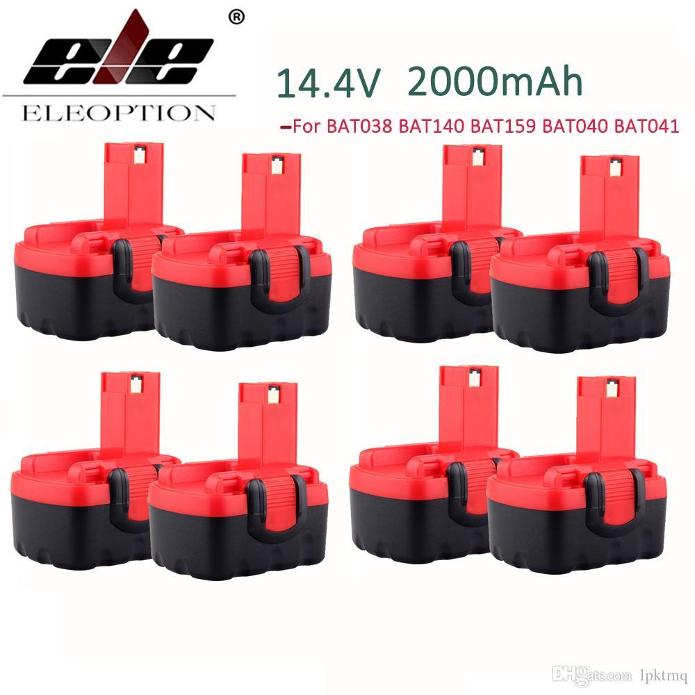 2000mAh 14.4V 2.0Ah Аккумулятор для Bosch 14.4V батареи BAT038 BAT140 BAT159 BAT040
