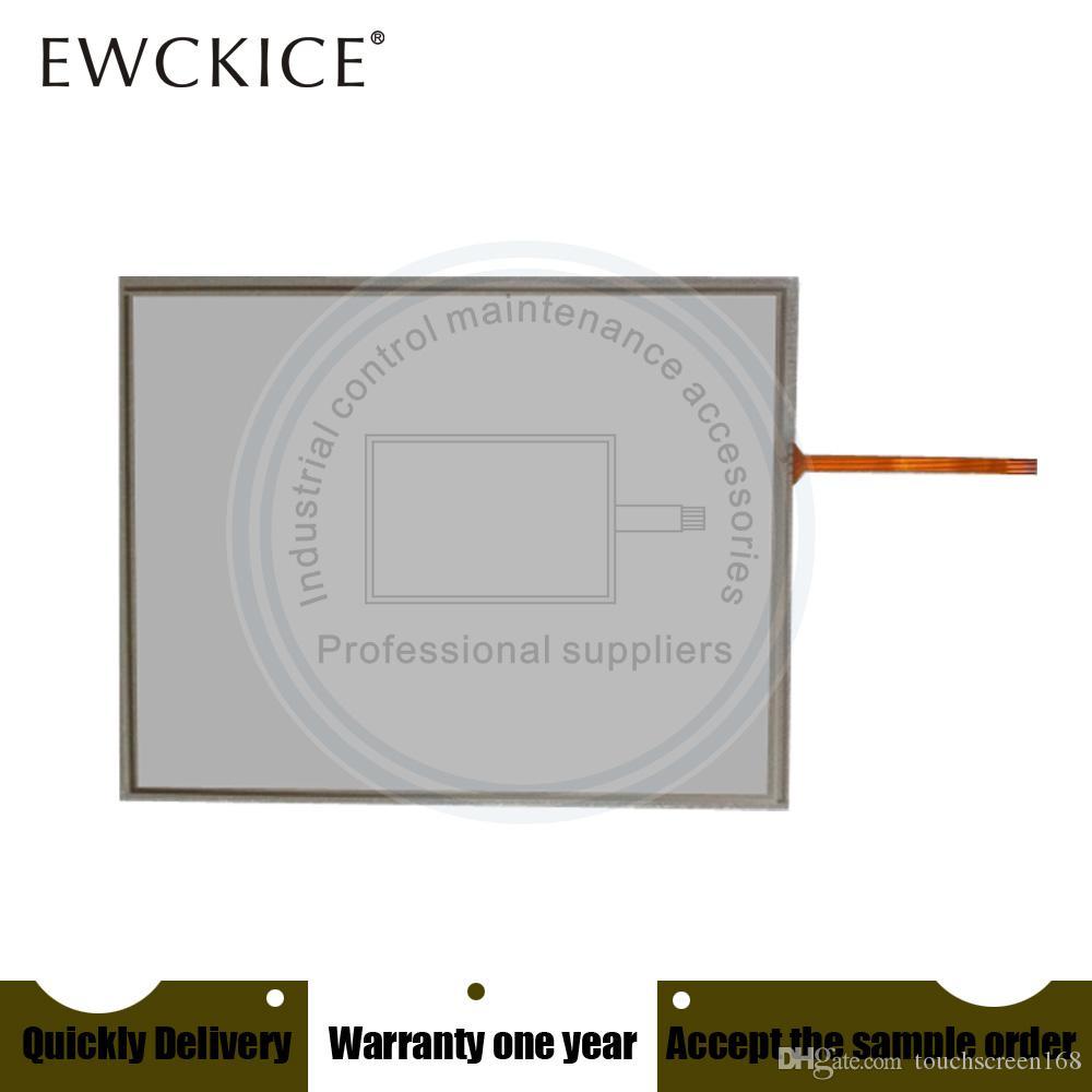 Original NOVO N010-0554-x126 / 01 N010-0554-X126-101TW touchscreen membrana painel touch screen N010-0554-X126-101TWB PLC HMI industrial