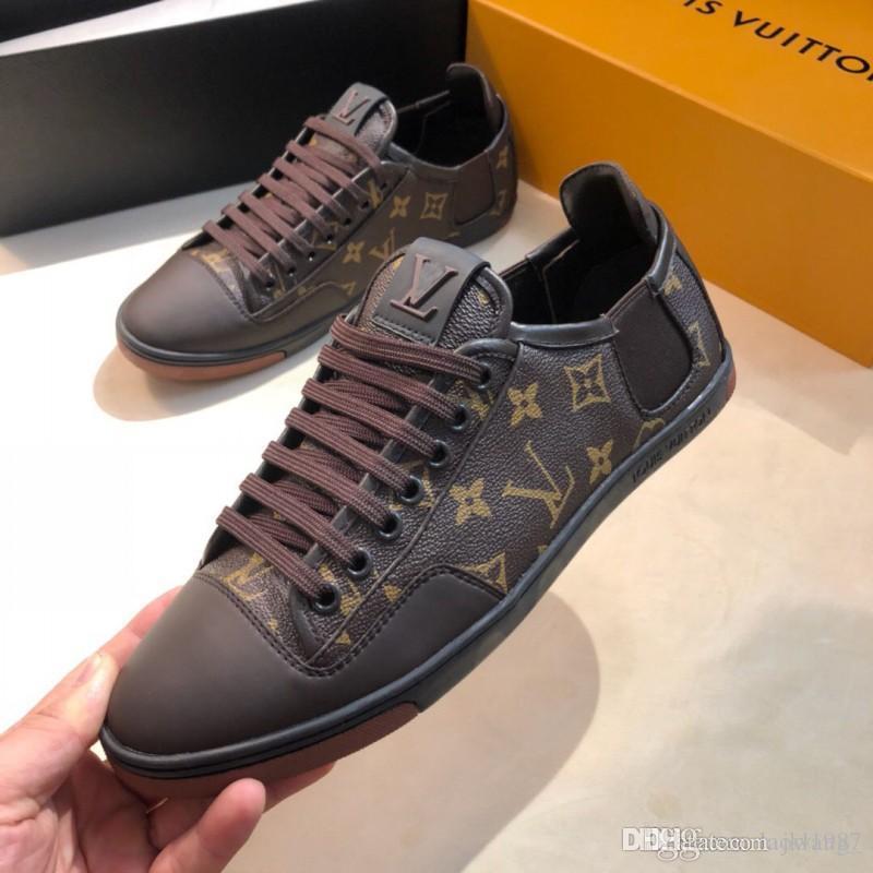 Sommermens-Schuh-Turnschuh-Sports Fashion Luxury Flats Turnschuhe Breathable Freizeit Herren Schuhe Mode Type Luxus Schuhe Hombre