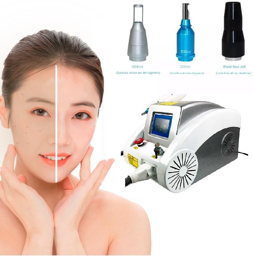 HOT vendita Q Switched ND YAG 532 1064 1320 nm di rimozione del tatuaggio del laser Yag macchina prezzo del carbonio Laser Peel macchina