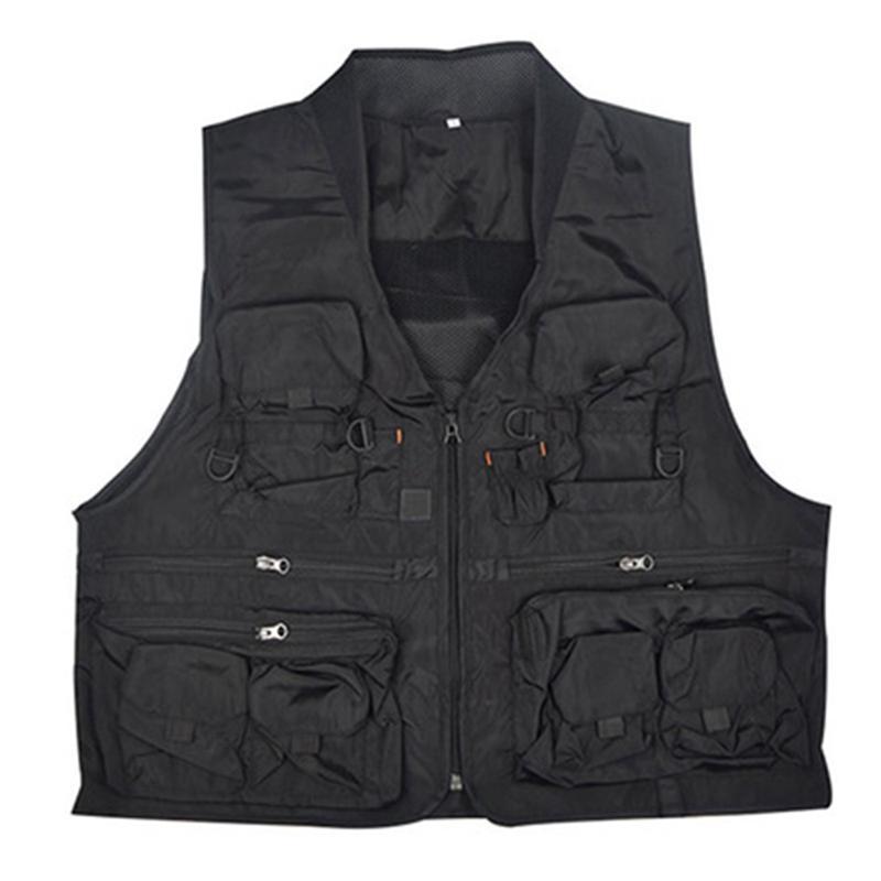 Korean Fishing Vest Quick Dry Fish Vest Breathable Material Fishing Jacket Polyester Fiber Fish Jacket Photography