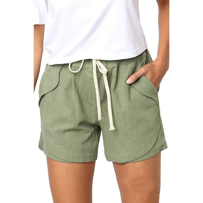 Atractivo nueva llegada de las mujeres pone en cortocircuito pantalones cortos de camuflaje del ejército de Nueva algodón de las mujeres suelta Trabajo pantalones ocasionales más la corto n Nueva correa # 678