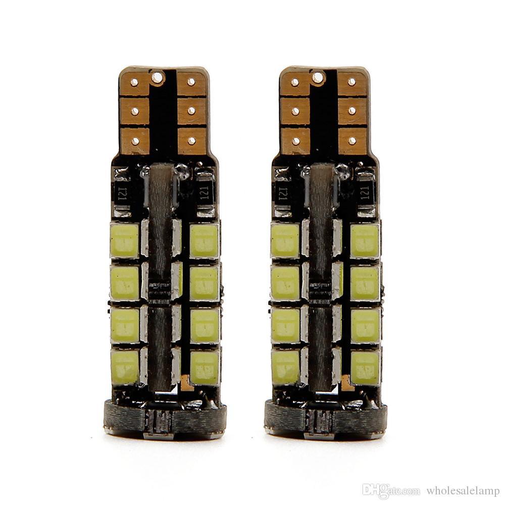 10 38SMD 2835 LED 5W Error Free Stop Light LED Car Side Wedge Light ERROR FREE Car Side Light car styling