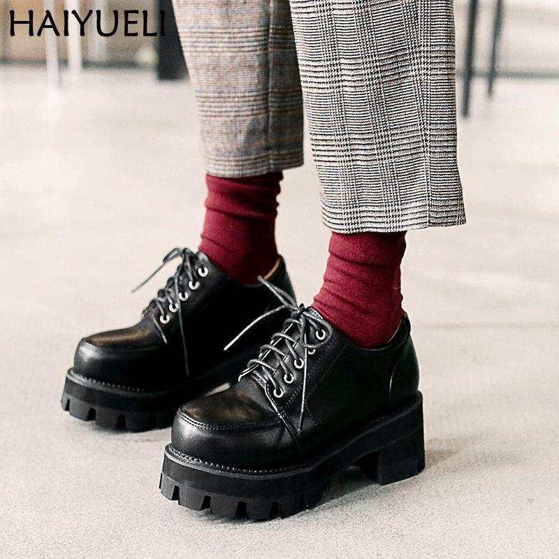 all black platform heels