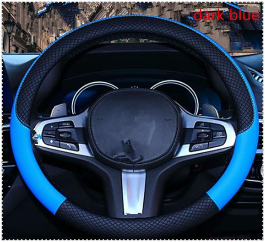 High quality 37-38 cm diameter car parts steering wheel cover for GL450 ML63 M-Class ML500 ML350 Ener-G-Force