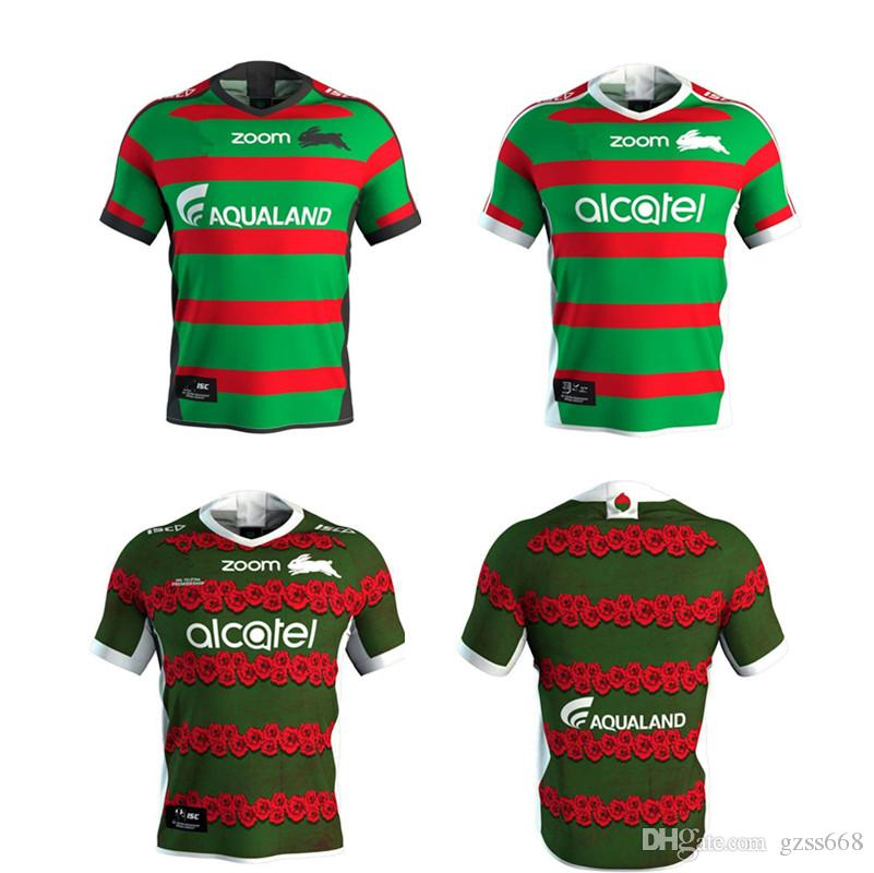 2020 2019 South Sydney Rabbitohs Home Rugby Jersey Indigenous Anzac Heritage Jersey Size S 3xl Top Quality From Gzss668 18 71 Dhgate Com