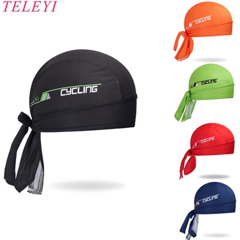 2020 deporte al aire libre de los hombres bicicleta de la bici casquillo del sombrero del pañuelo transpirable sudor del sombrero del casco del cráneo del pirata Cabeza venda de la bufanda