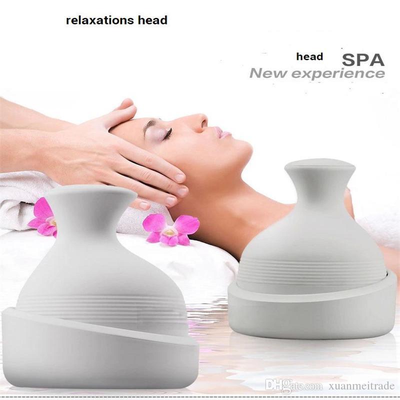 impermeabile testa elettrica lavaggio massaggio termale portatile profondo del cuoio capelluto la crescita dei capelli massaggiatore più pulita e rilassarsi mente la cura dei capelli puliti