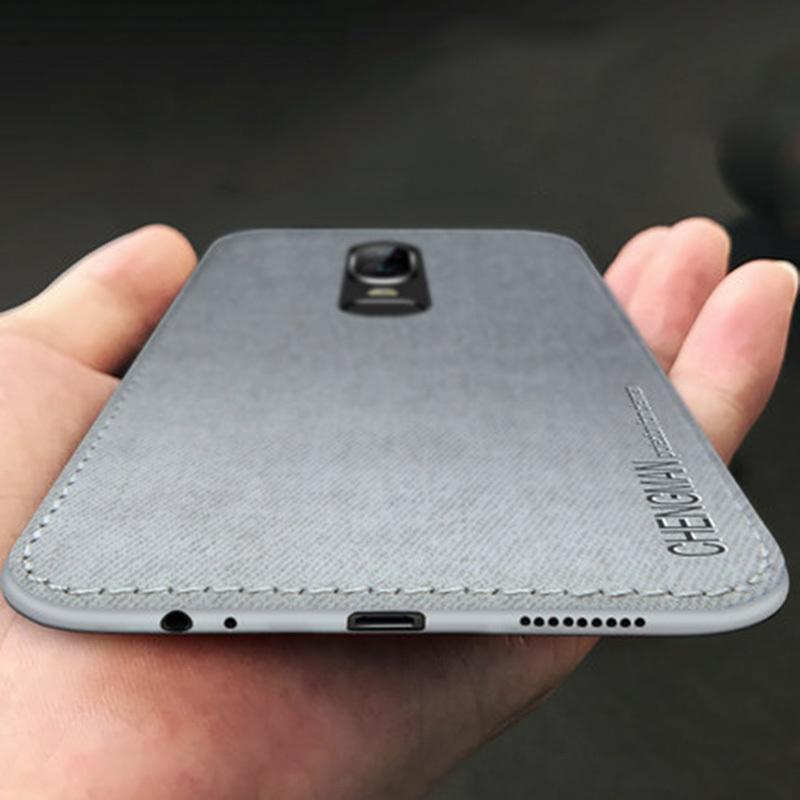 1PC 반대로 연약한 Tpu 광택이없는 실리콘 피복 Oneplu 6를위한 이동할 수있는 사업 전화 상자 Oneplus 6 5 5t 덮개를위한 Oneplus 5 상자