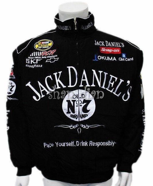 2019 Free shipping Black for Jack Daniel jacket men MOTO GP motorcycle auto f1 men man jackets coat
