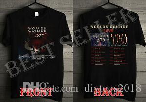 Evanescence Within Temptation Hip hops Collide Tour 2020 T Shirt S 5XL