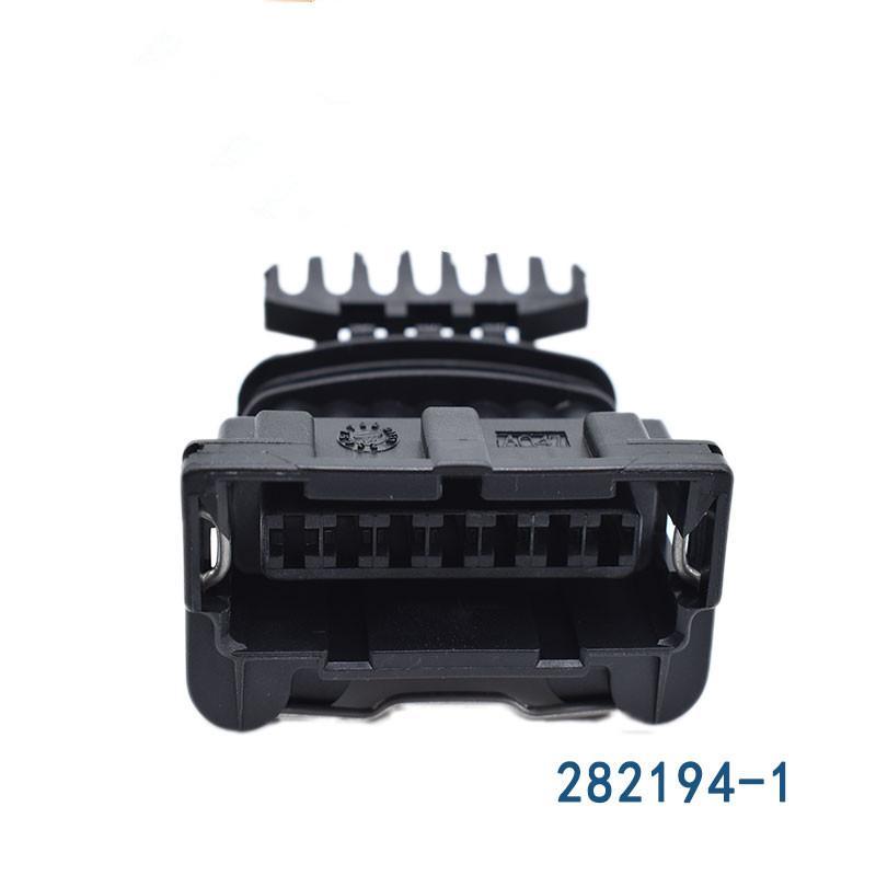 10분의 5 / 50분의 20 / 100PCS 단자 / 많은 AMP / TYCO 7 핀 7 방법 여자 주니어 전원 타이머 JPT 커넥터 플러그 케이블 씰 282194-1 차