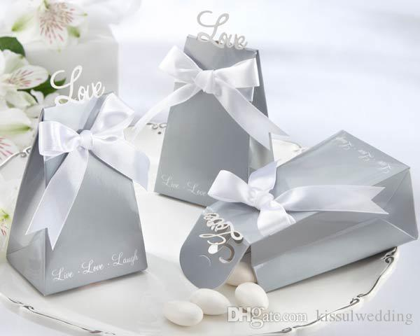 "100Pcs/lot ""Express Your Love"" Elegant Icon Wedding Favor Box and candy box favors For wedding souvenirs box and gift Free shipping"
