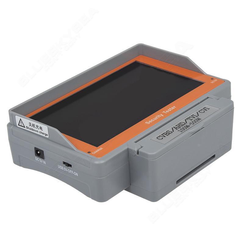 1 개 손목 5 인치 CVBSAHDTVICVI CCTV 카메라 테스트 디스플레이 모니터 테스터 오디오 PAL NTSC AHD에서 EYOYO 4