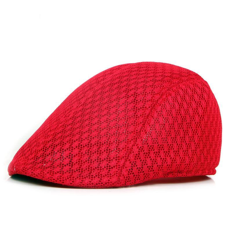 Nuova maglia del Mens Gatsby Hat Cabbie Flat Cap Newsboy Golf Beret irlandese Cappelli Blu