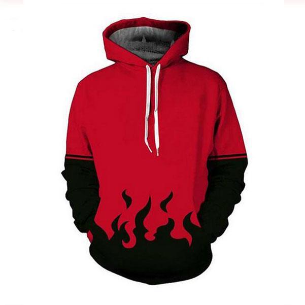 Uomini caldi cappuccio Anime Naruto 3D HD stampa casuale magliette felpate Coppia Tute Donne Felpe con cappuccio PR0150