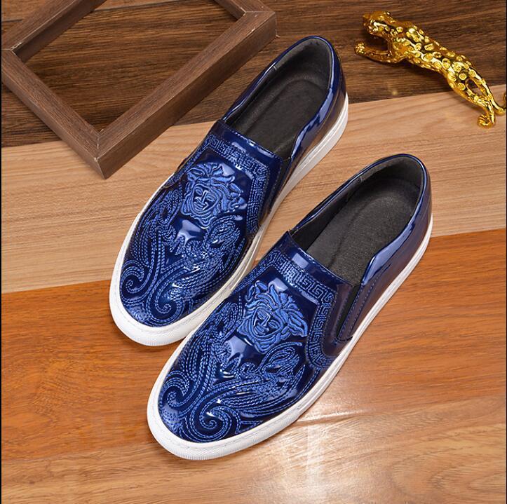 İş Elbisesi shoes.Big kodunu sürüş Avrupa tarzı hakiki deri Moda erkek eğlence ayakkabılar klasik erkek modeli rahat ayakkabılar 37 46