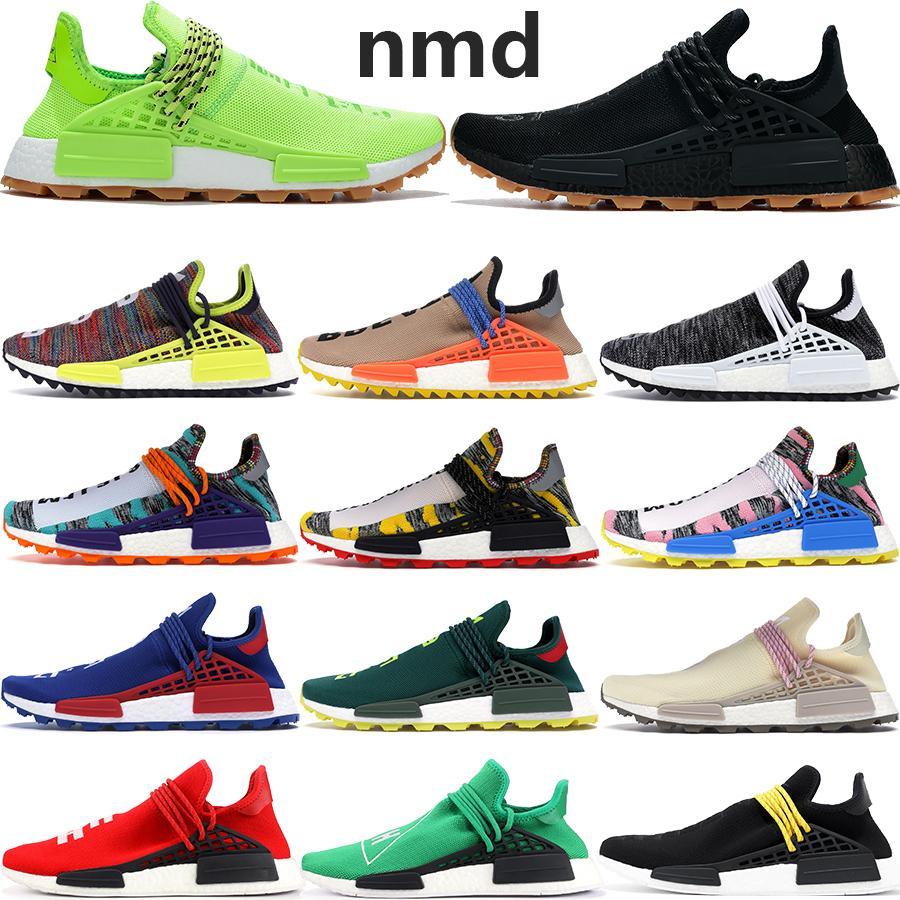 Originali Race infinite specie NMD umani BBC Designer Shoes Hu Pharrell Williams solare pacchetto Oreo anima conoscere gli uomini delle donne di sport in esecuzione scarpe da ginnastica