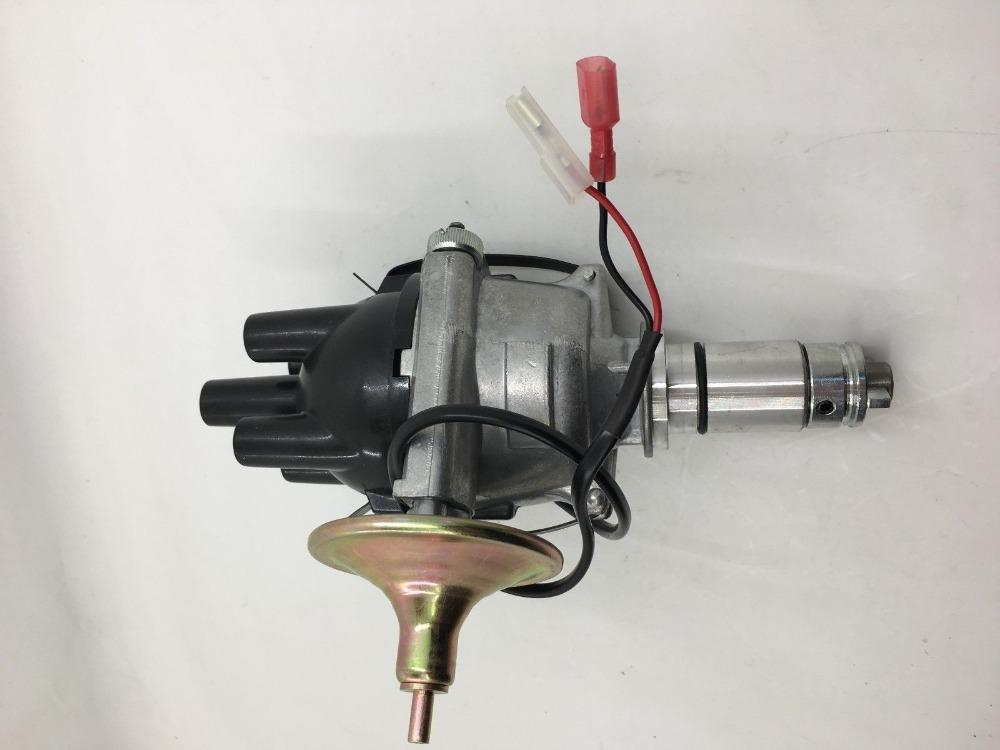 SherryBerg 25d4 Complete 25D Electronic 25D4 Distributor for Classic Mini 998cc with Electronic Ignition replace Lucas 25D 4 cyl