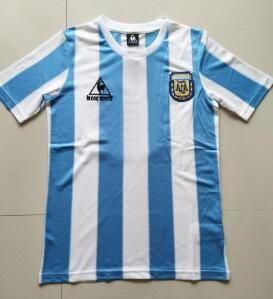 الأرجنتين 86 ريترو مارادونا لكرة القدم جيرسي 2021 كوبا أمريكا ميسي الرئيسية أزرق أزرق رجالي أجويرى إيكاردي قميص كرة القدم