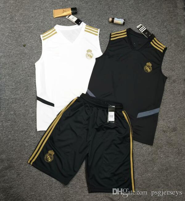 2019 2020 NEW REAL MADRID Soccer vest Jerseys MODRIC LUCAS V MORATA BALE KROOS ISCO BENZEMA Football Shirt 19 20 sleeveless soccer jerseys