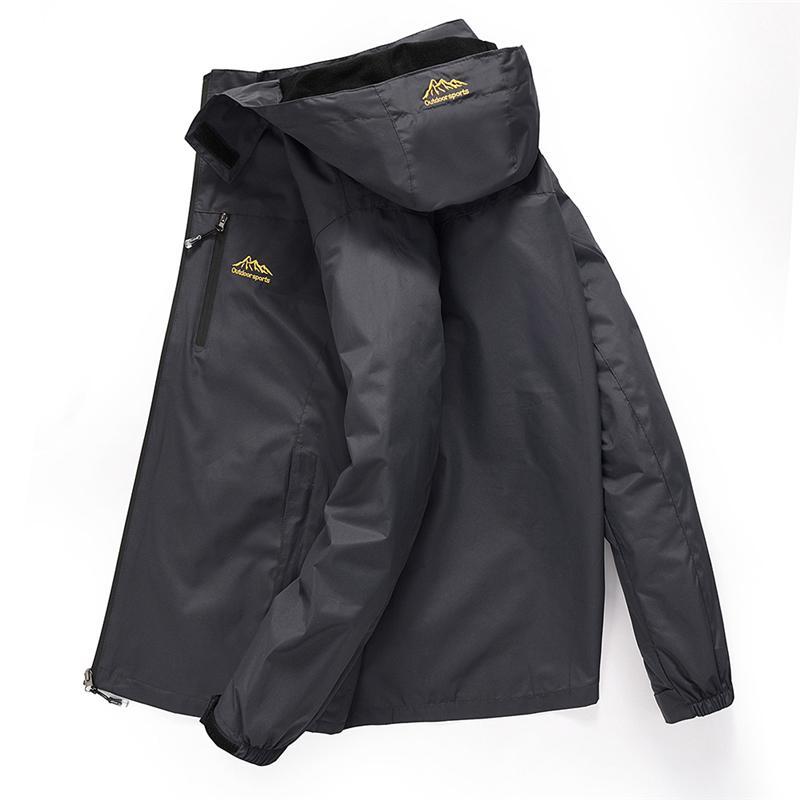 Повседневная Водонепроницаемая куртка мужчины 2020 весна осень дышащий с капюшоном пальто Открытой Горного туризма Одежды Мужской ветровка куртка