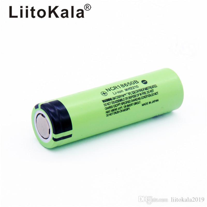 originale NCR18650B 3.7V 3400 mAh 18650 3400mAh per la batteria al litio ricaricabile