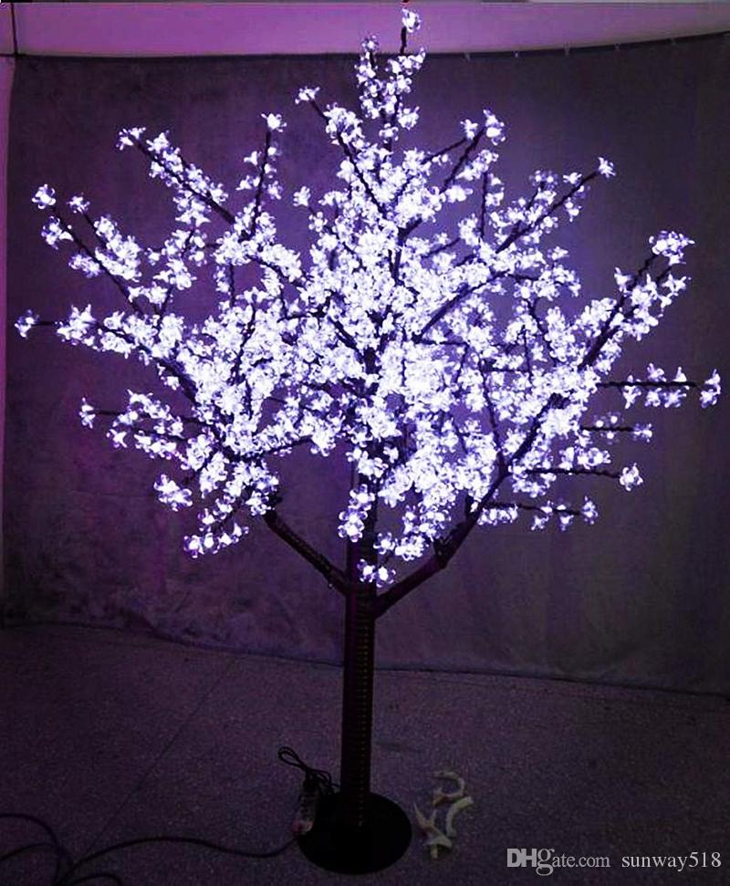 2020 Led Cherry Blossom Tree Light Outdoor Waterproof Artificial